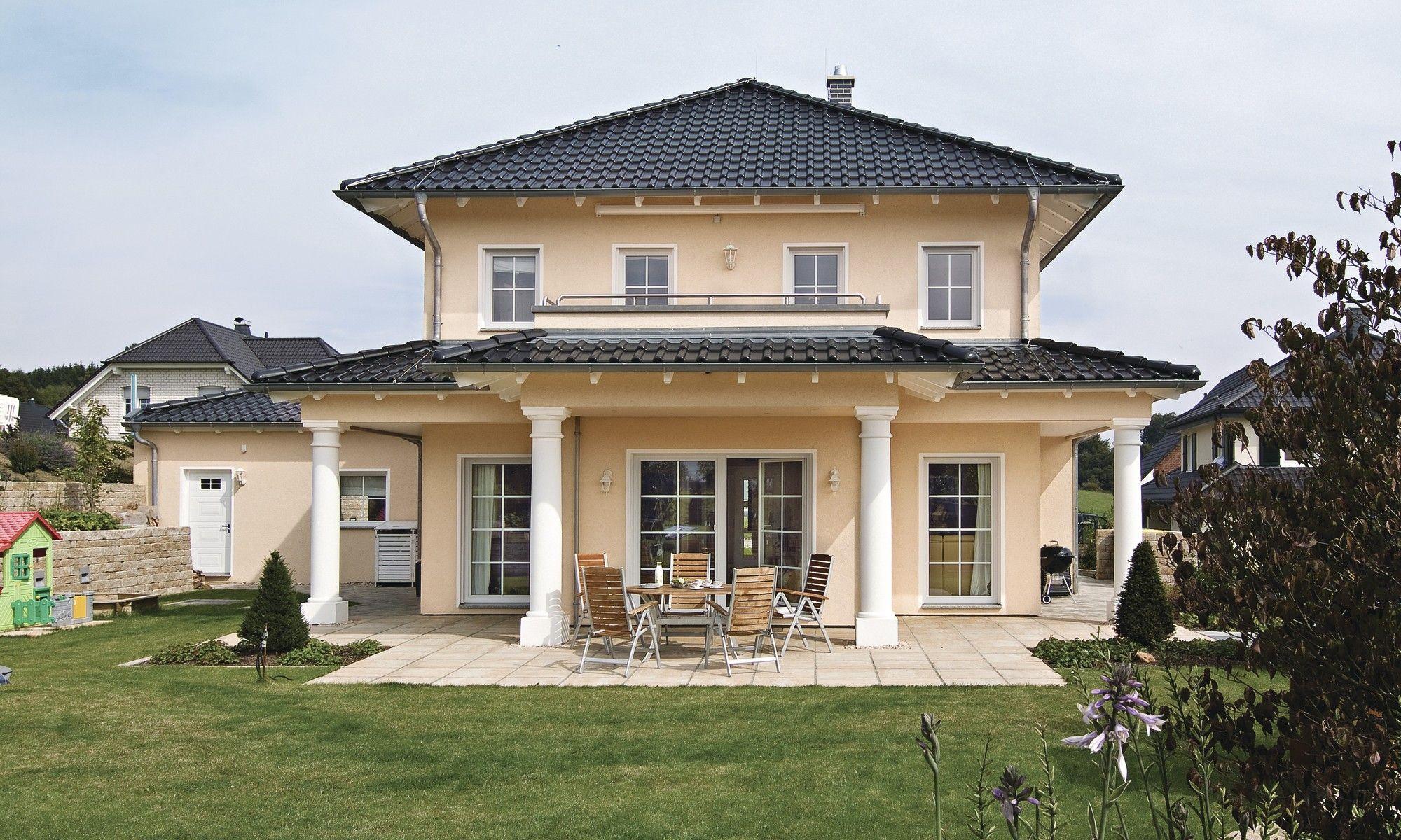 Hausdetailansicht Haus bauen, Toskana haus, Mediterrane