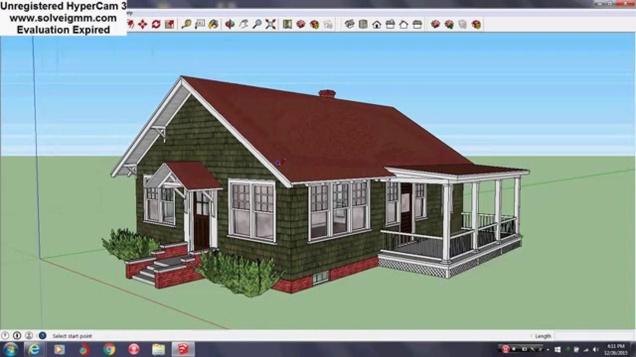 Here is a sketchup model tour of the aladdin merrill from the