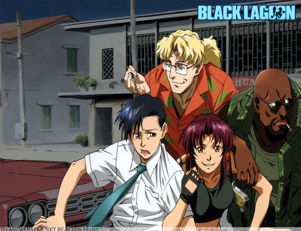 Black Lagoon Photo: black lagoon | Black lagoon anime, Black lagoon, Black