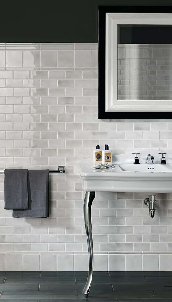 Medley By FINE In Grey Available In X And X Wall Tile X - 5x5 mirror tiles
