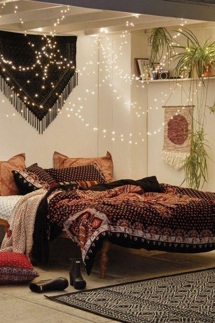 Comment Faire Une Chambre Romantique #7: 60 Idées En Photos Avec éclairage Romantique!