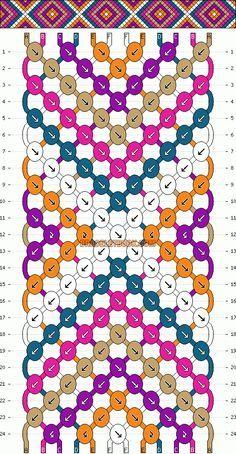 Normale Muster # 2146 #friendshipbracelets