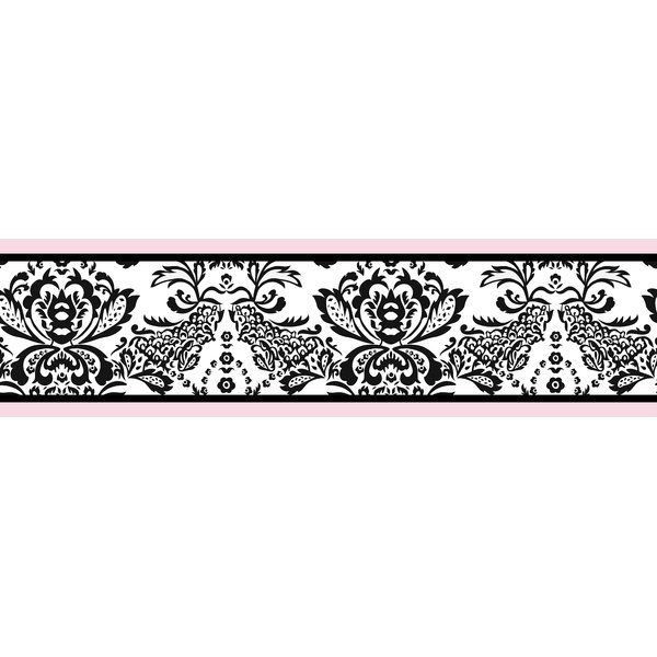 "You'll love the Sophia 15' x 6"" Damask Border Wallpaper at"