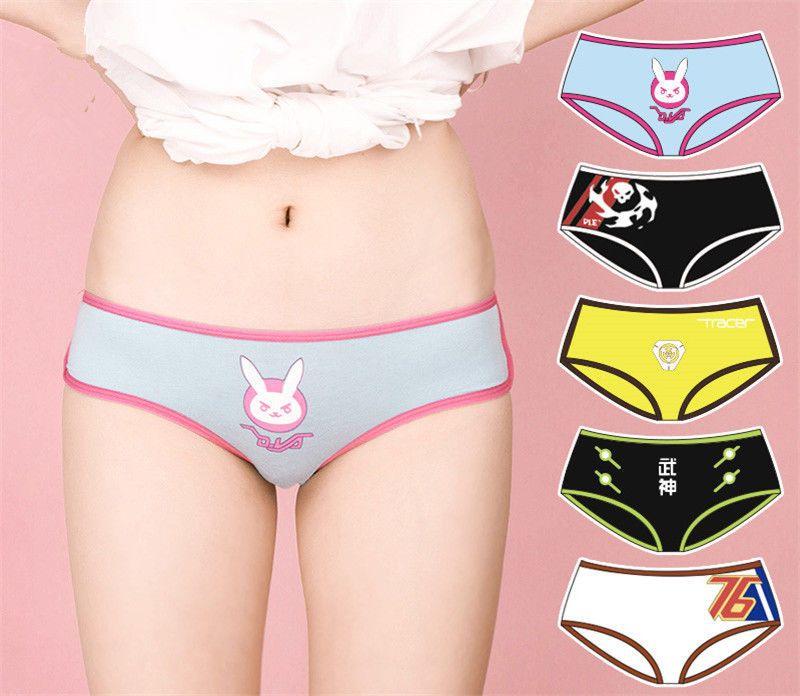 f166fafb3  8.49 - Underpants Overwatch D.Va Anime Girls Briefs Panties Underwear  Intimate Lolita  ebay