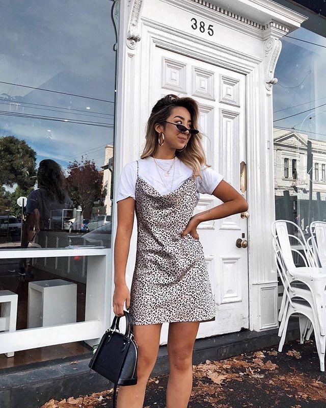 Leopard Betta Vanore Mini Dress - US 2 / Leopard