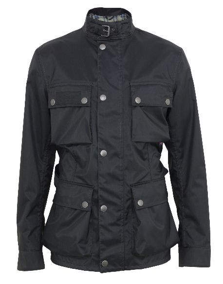 a4c7b8d4aa0 Belstaff - Rally Master Summer 350, mens black 6.6oz nylon jacket,  waterproof and