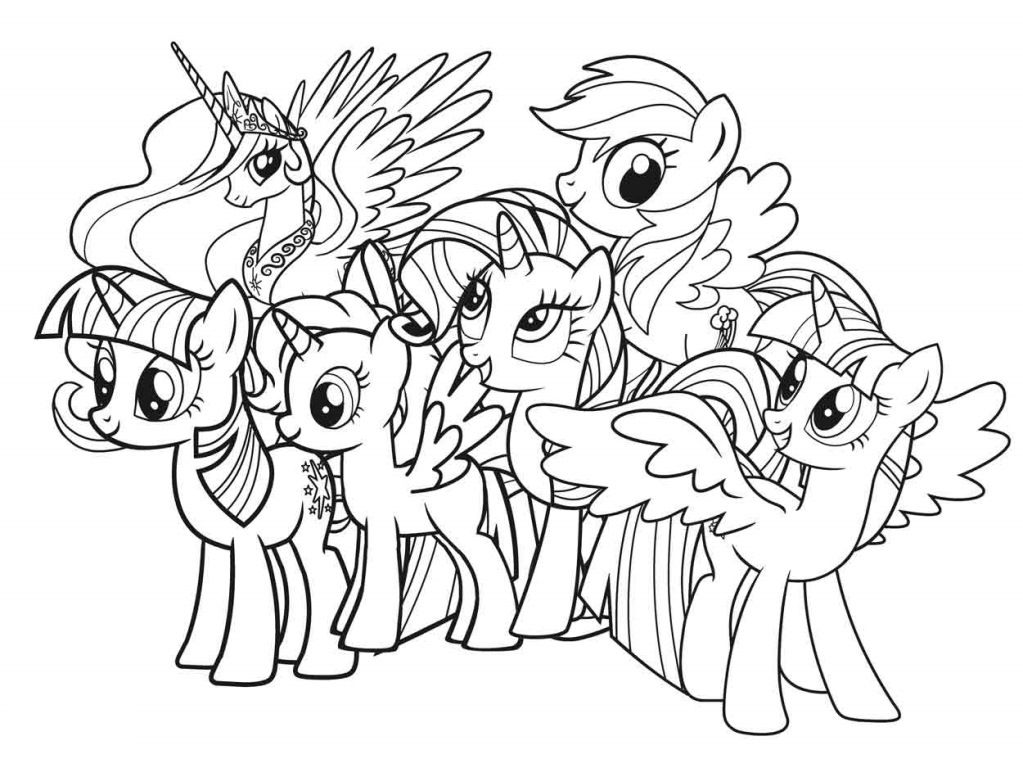 Pin by Colouring Pages on My Little Pony Colouring Pages | Pinterest ...