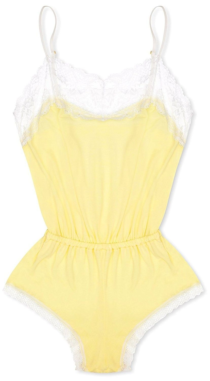 a5a2c1362c0d cheekfrills Women s Pastel Neon Teddy - Pastel Neon Yellow ...