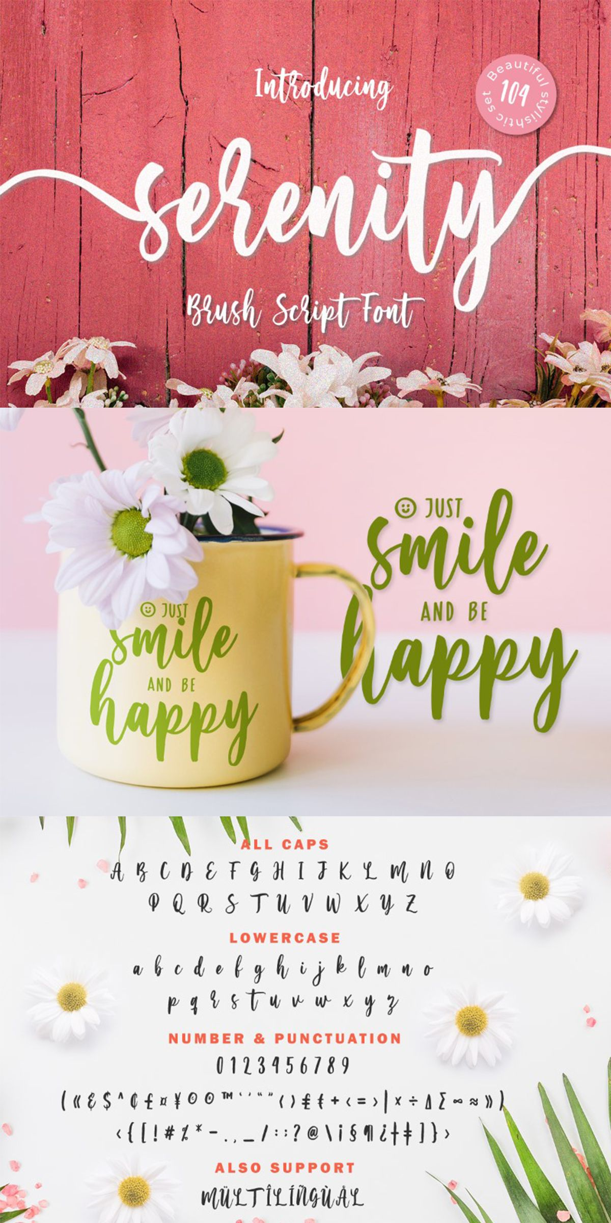 Serinity Font From Yumna Type Only 12