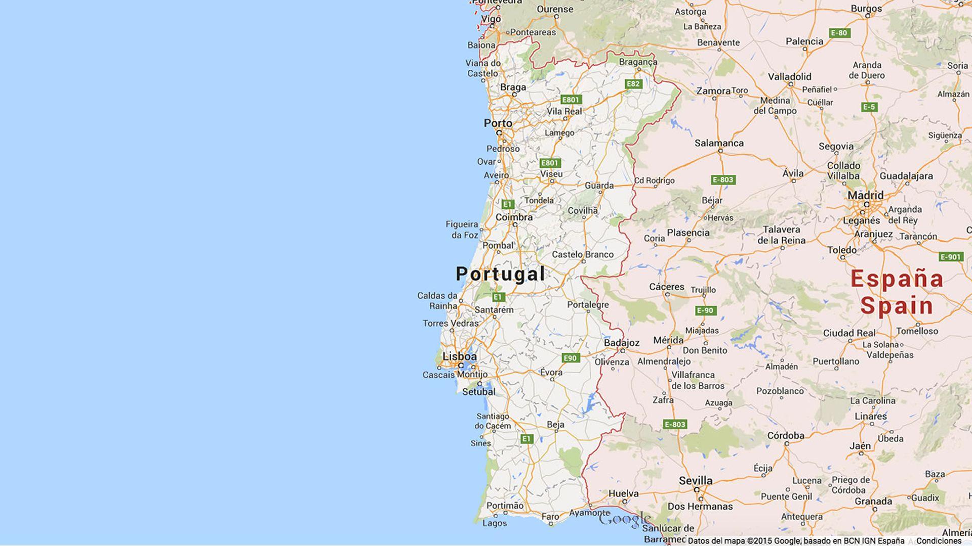 Mapa De Carreteras Portugal Espana Mapas De Carreteras Mapas