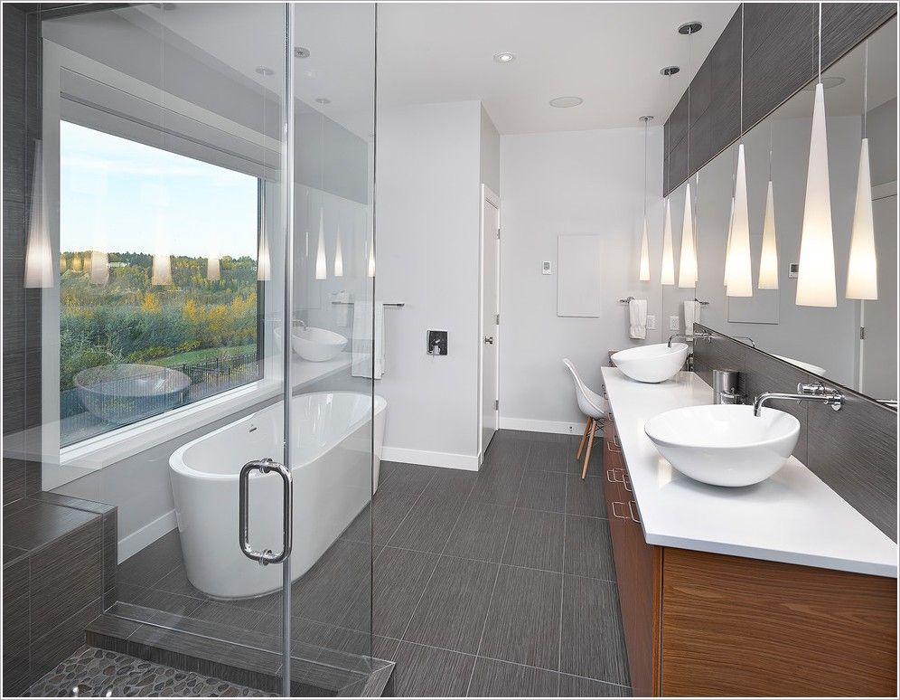 Bathroom Lighting Edmonton modern concept light gray tile bathroom with bathroom modern