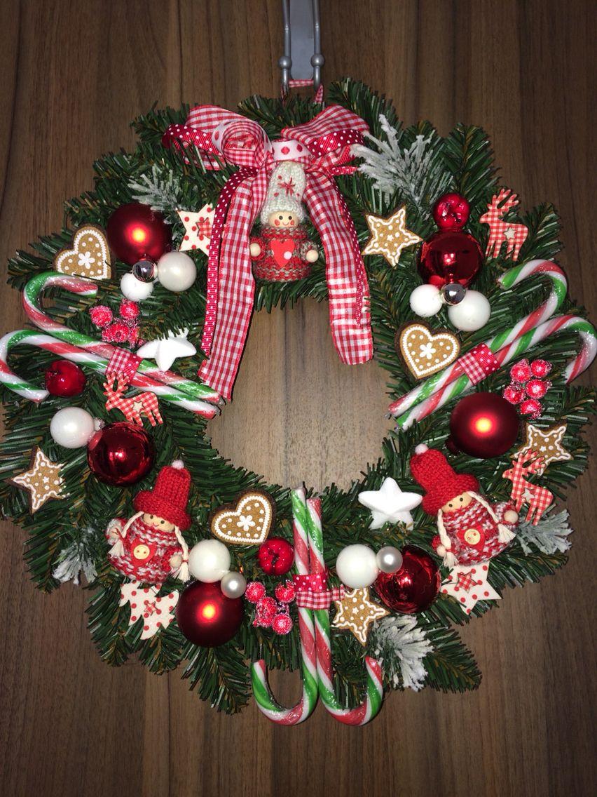 Swiateczne Drzwi Christmas Wreaths Holiday Holiday Decor