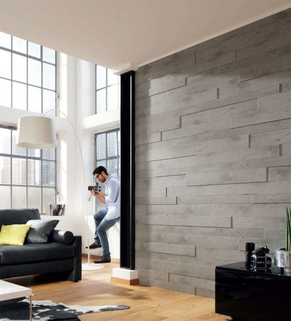 Contemporary Wood Paneling
