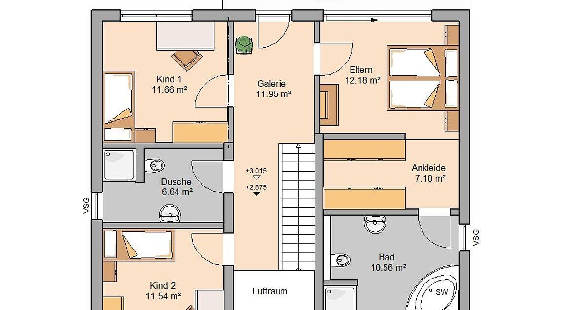 20 Schlafzimmer mit bad grundriss