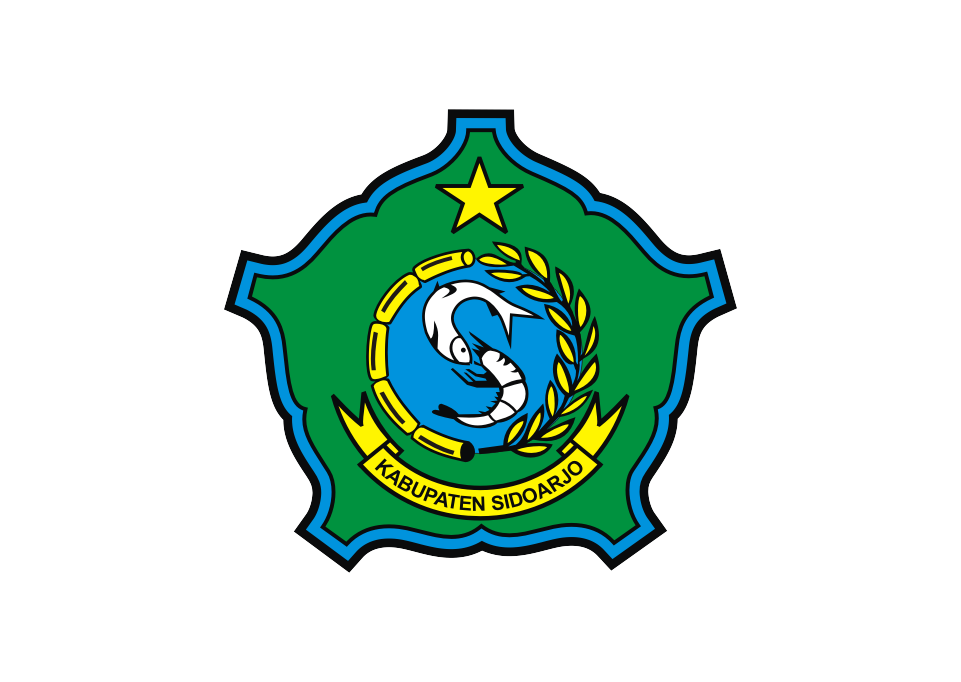 Logo Kabupaten Sidoarjo Vector Kota