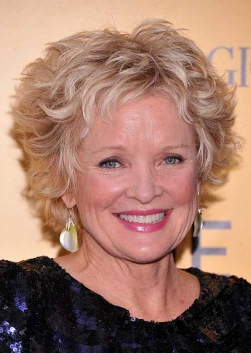Short Curly Hairstyles for Over 50   Short hairstyle, Curly ...