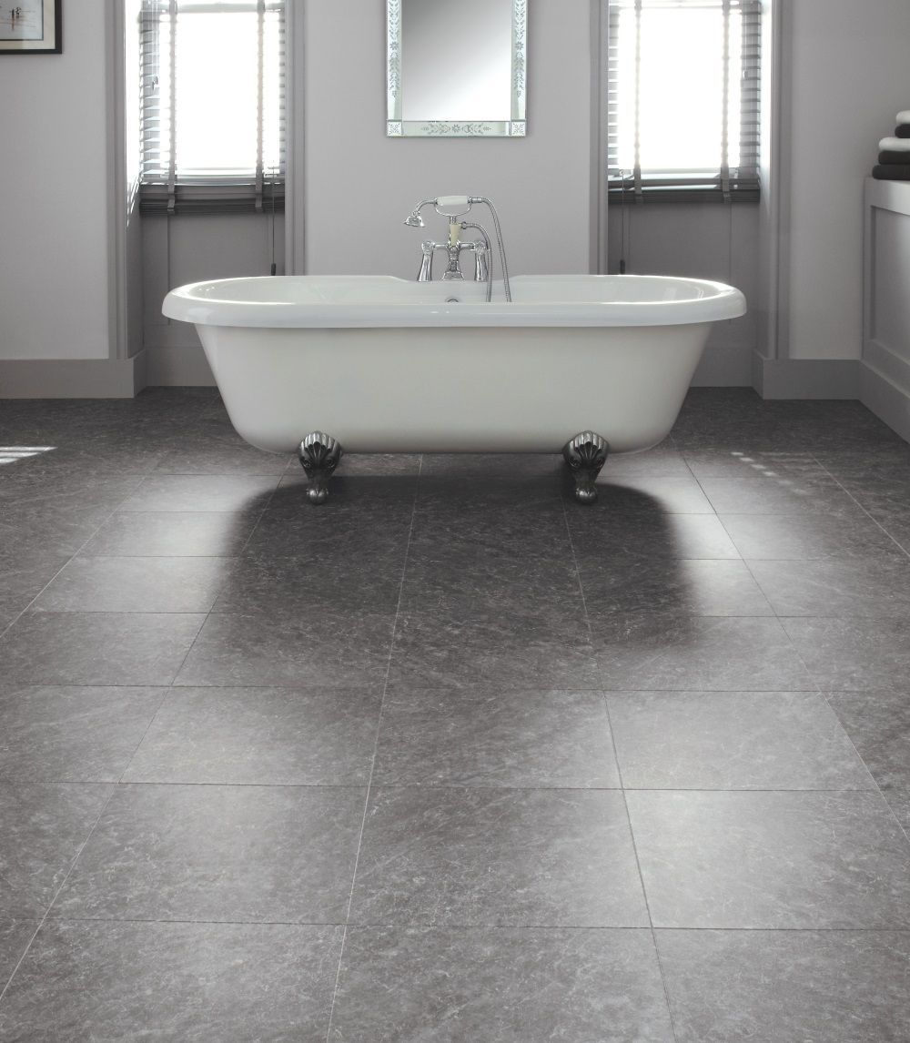 Bathroom floor vinyl tiles - Bathroom Flooring Ideas And Advice Karndean Designflooring