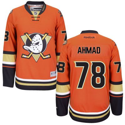 sf giants 2010 world series champs mens anaheim ducks reebok orange custom alternate premier jersey