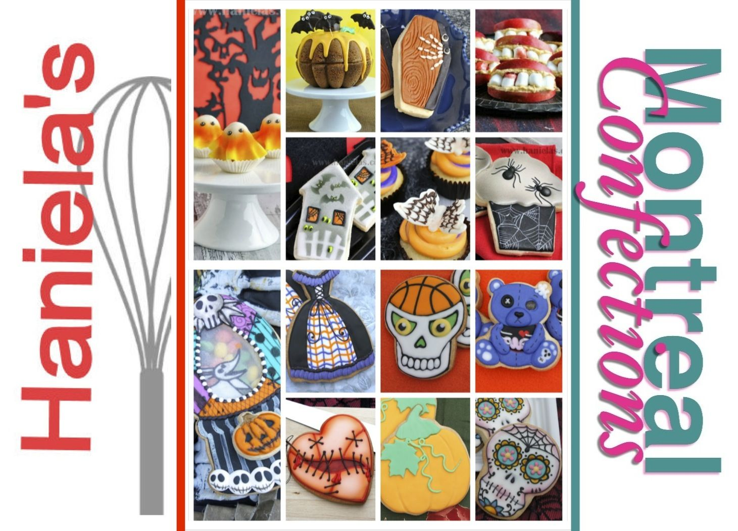 Compilation of 14 Halloween projects by Montreal Confections & Haniela's http://www.youtube.com/playlist?list=PLQz8LwCpApWQpT5UPhOvIgmIIaXGtrGa_