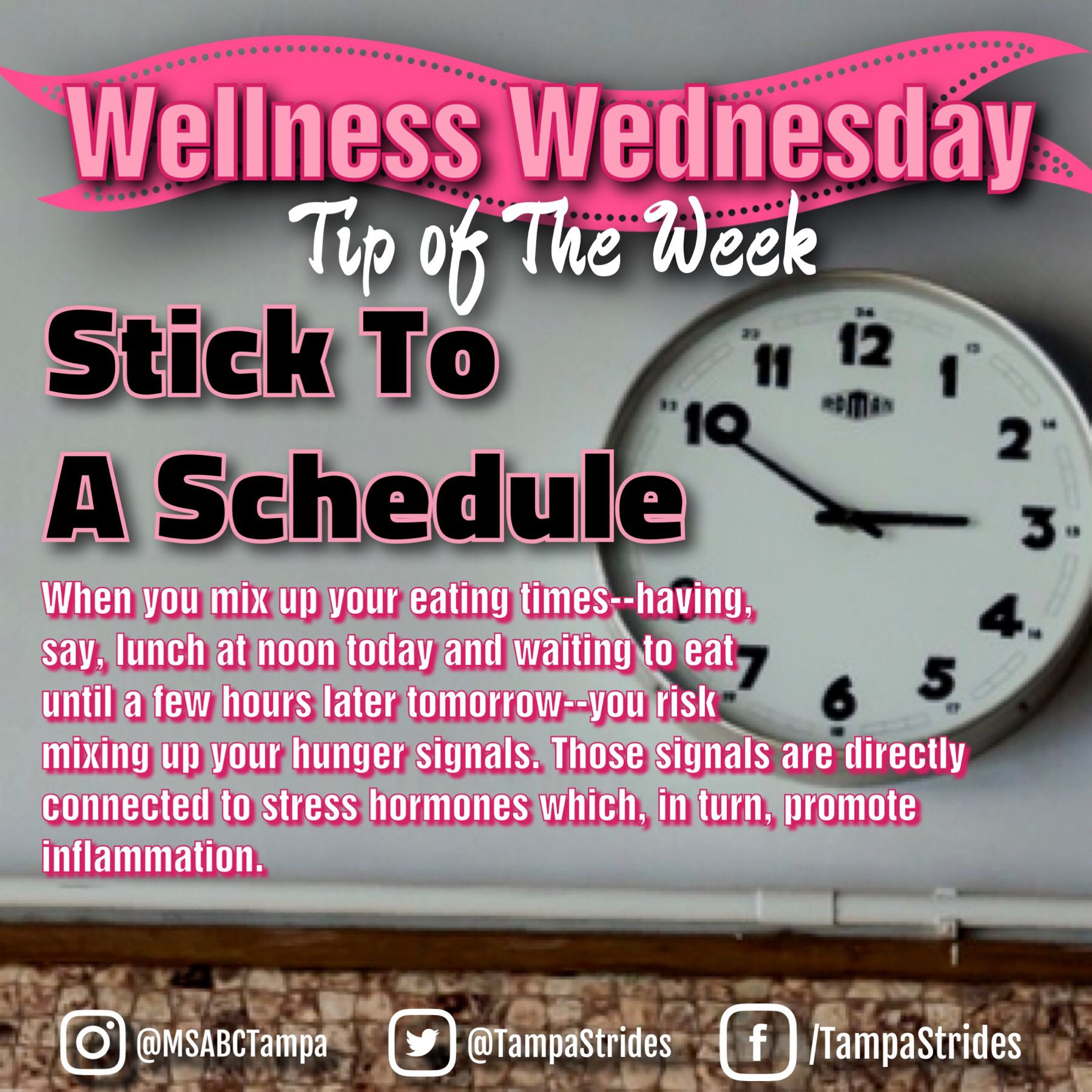Idea By TampaStrides On Wellness Wednesday