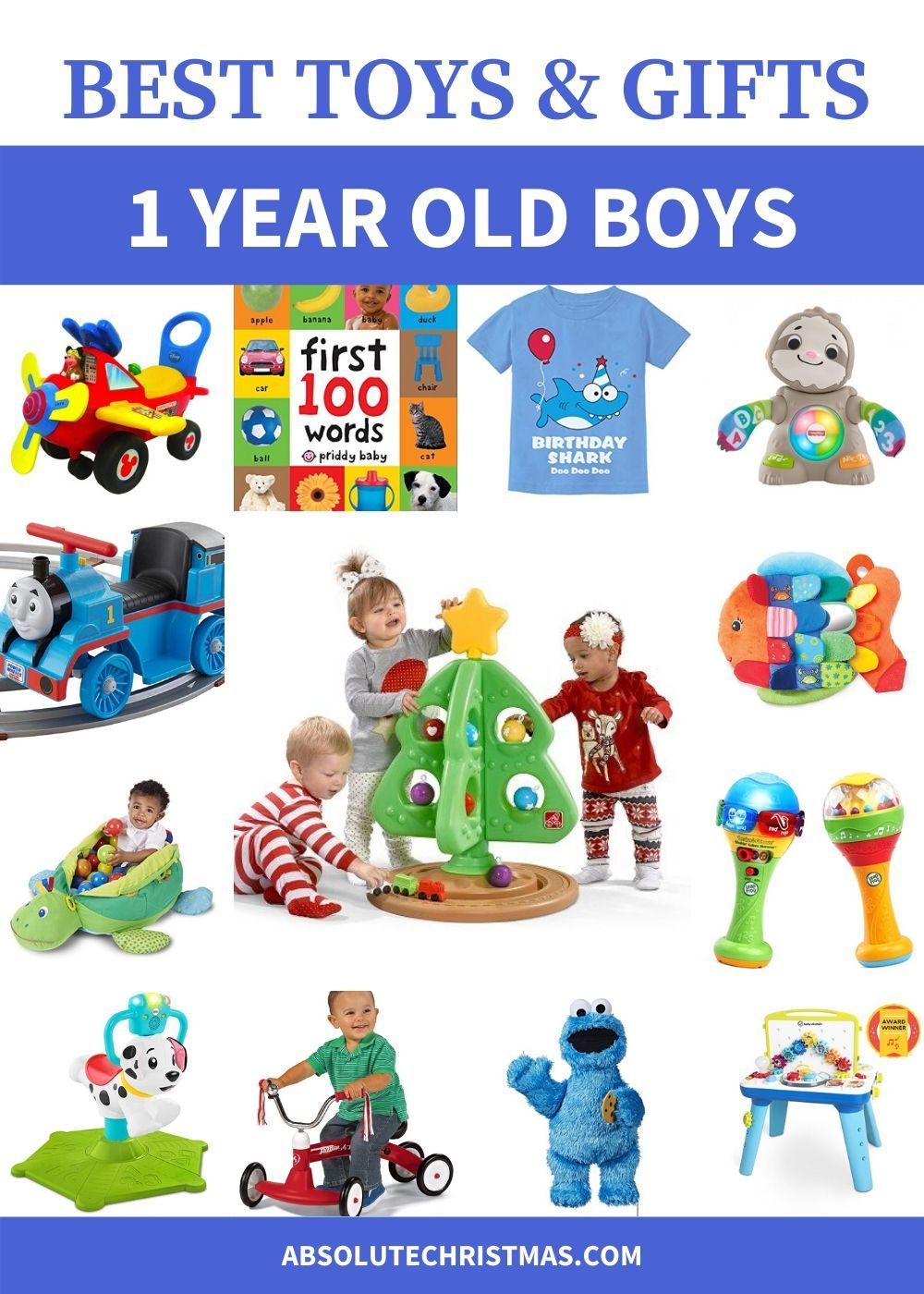 31 best gifts for 1 year old boys 2020 absolute