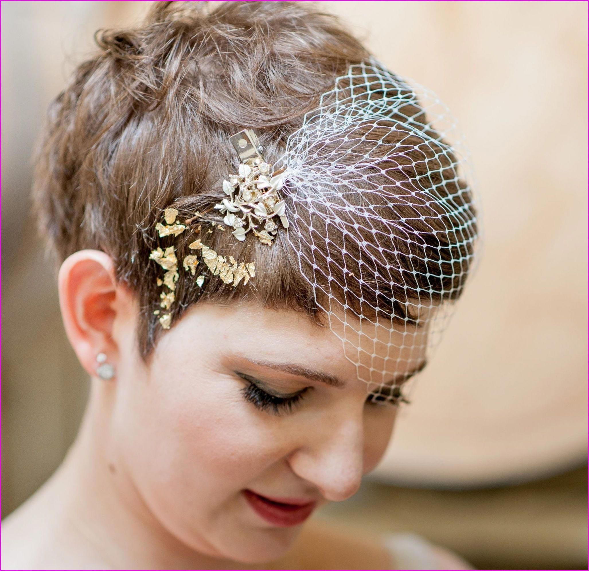 20 short pixie wedding hairstyles, don't let the length fool