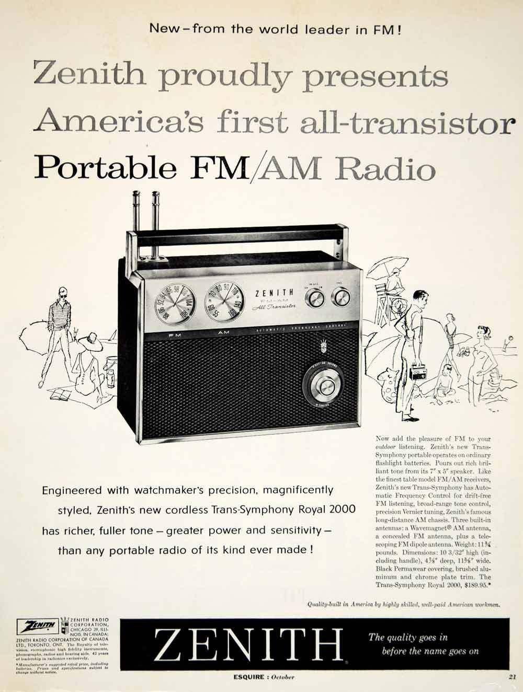 Zenith Vintage Ads Vintage Advertisements Vintage Electronics