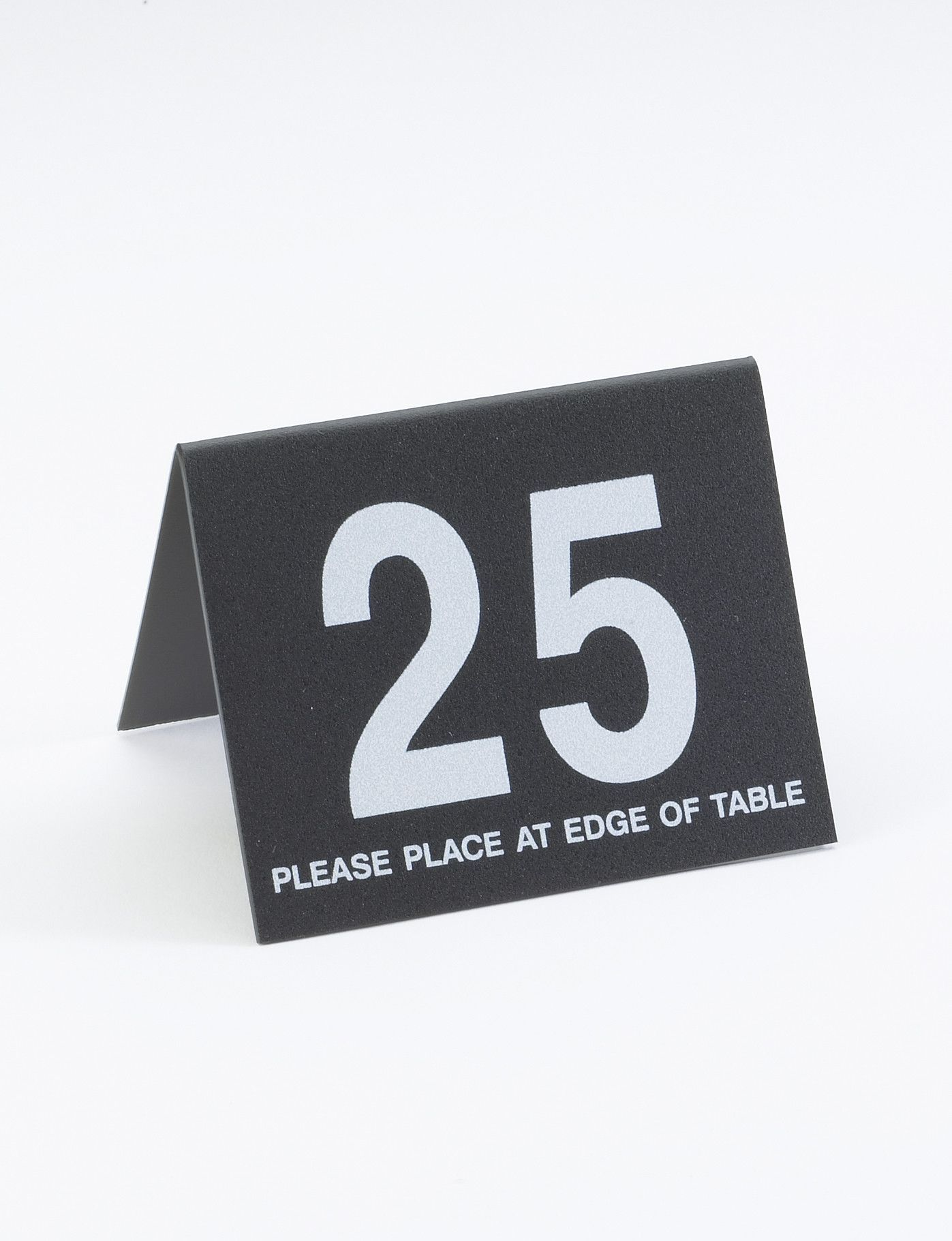 26-50 Number Tent