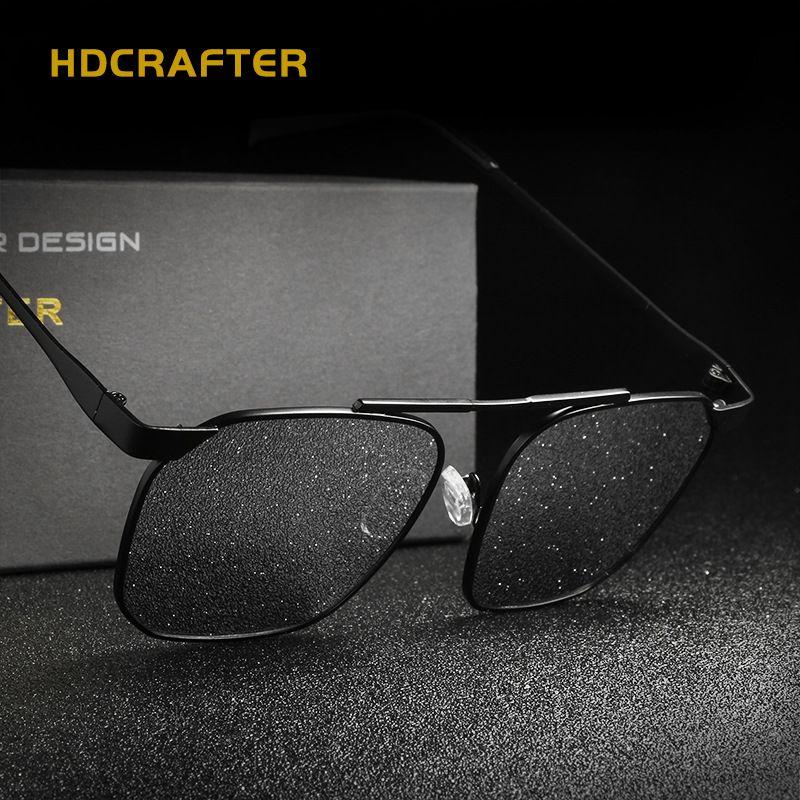 fbb2eb9945d HDCRAFTER Brand Designer Unisex Square Sunglasses Men Women Polarized Man  Woman Glasses Retro Oculos Fashion Eyewear With Case. Yesterday s price  US   39.80 ...
