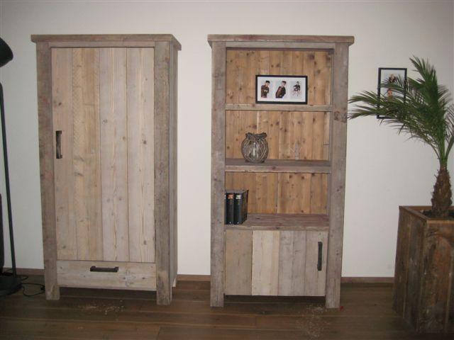 woonkamer kast van steigerhout - google zoeken | prachtige dingen, Deco ideeën