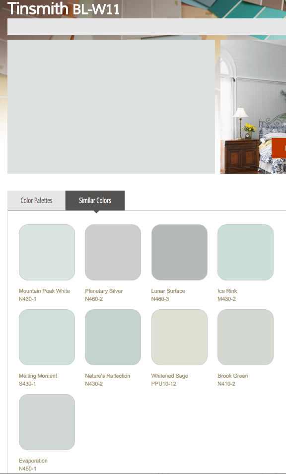 Behr Similar Colors To Tinsmith Dwell Pinterest