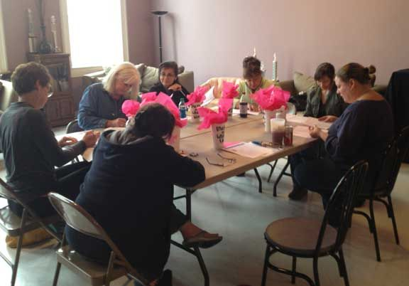 First read thru for Love, Loss and What I Wore, 2013