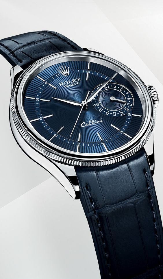 Montre Rolex Cellini Date: or blanc 18 ct – m50519-0011   – Watch out