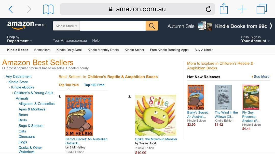 Barty S Secret 1 Amazon Best Seller Kid S Reptiles And