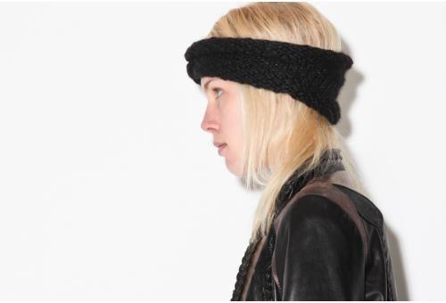 vintage black headband