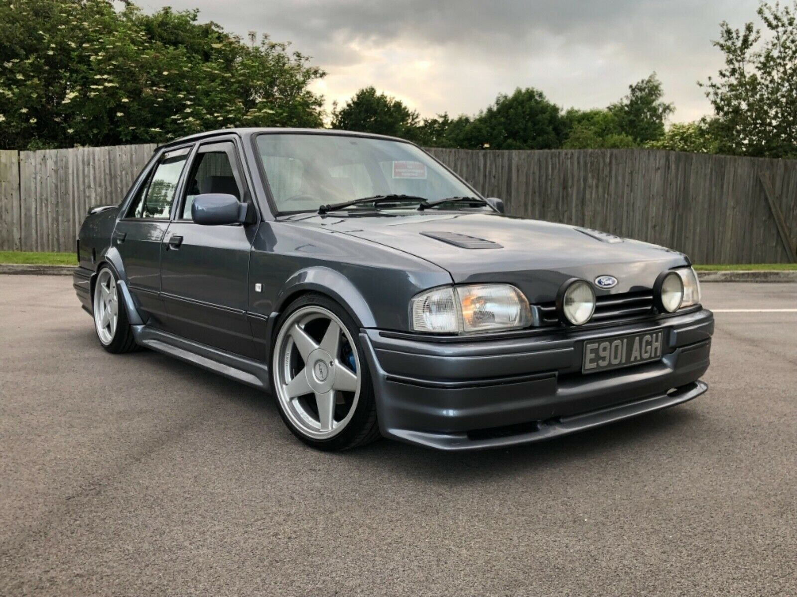 Check Out This Rs Turbo Powered Ford Orion Ford Orion Ford