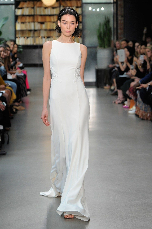 Vestidos de novia sencillos 2019: Los 50 diseños más cool de la temporada