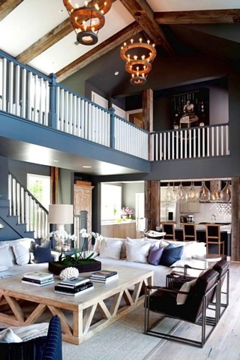 Awesome Rustic Farmhouse Lake House Decor Ideas
