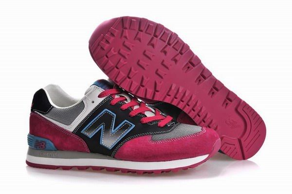 Men New Balance Classic Lover Black Grey Red Ml574nma Online