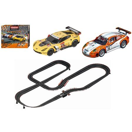 Carrera Go 20062379 Gt Competition Starter Set With Chevrolet Corvette No 3 And Prosche Ct3 No 36 Cars Walmart Com Chevrolet Corvette Corvette Carrera