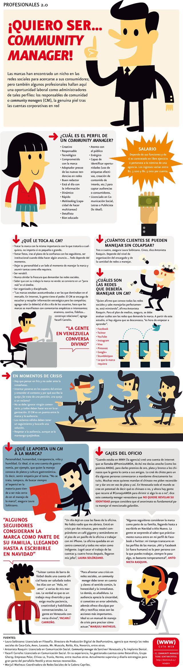 52 Ideas De Community Manager Infografías Socialismo Infografia Redes Sociales