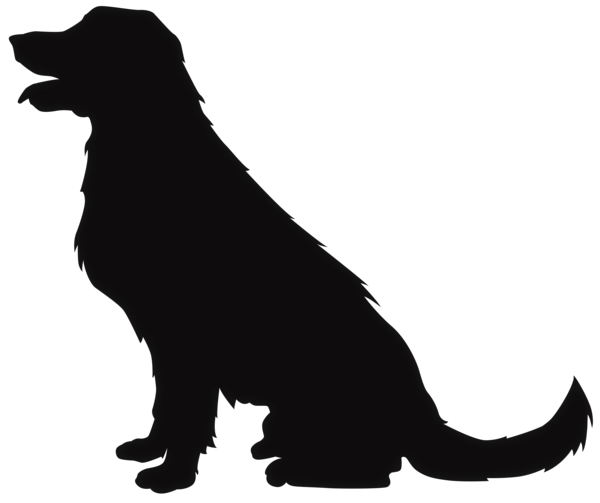 sitting dog silhouette clip art dog cat clip art pet graphics rh pinterest co uk