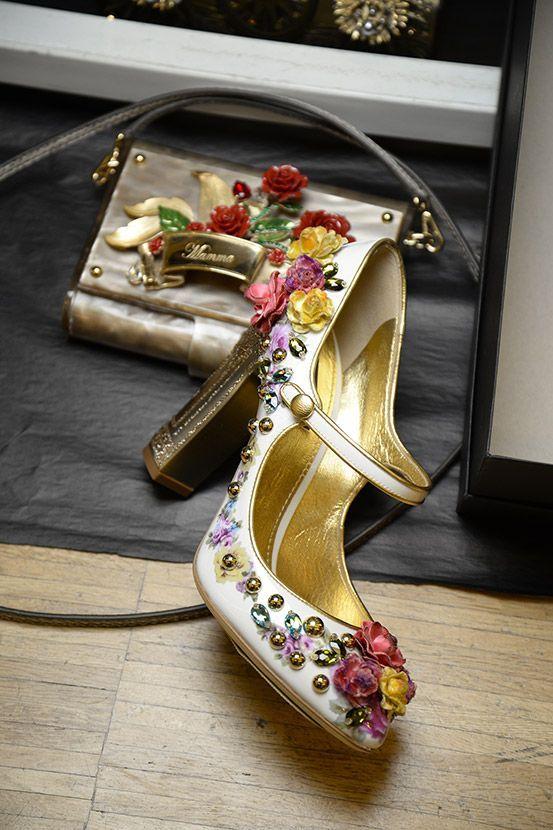 New fashion Womens Dolce & Gabbana Embellished Brogues Shop