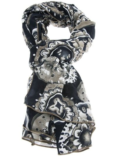 Fisico Printed Scarf