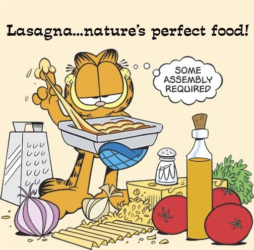 It S National Lasagna Day Bring It On Garfield Pictures Garfield And Odie Garfield Quotes