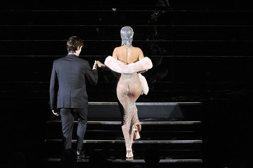 Rihanna in Adam Selman at the CFDA Awards