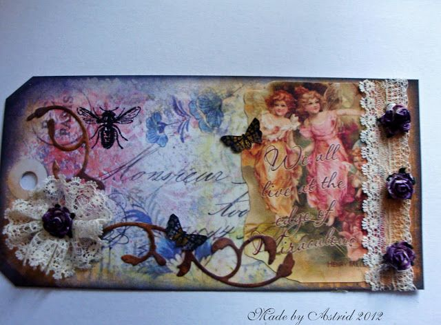 Astrid's Artistic Efforts: Altered tag