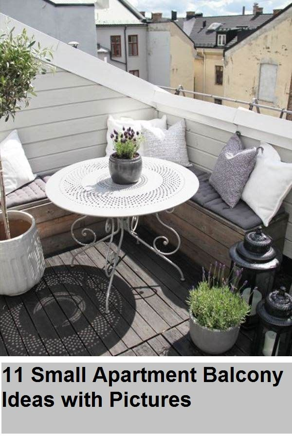 11 Small Apartment Balcony Ideas With Pictures 11 Small