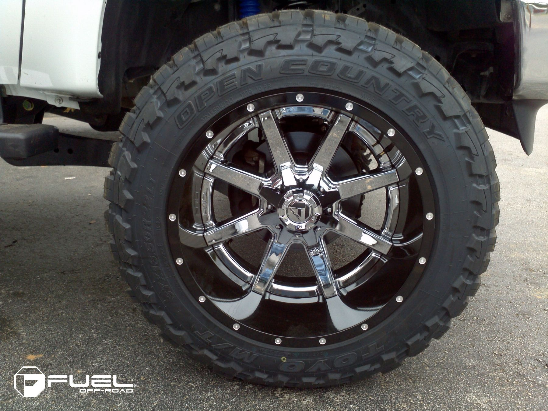 Maverick D260 22 inch Chrome Wheels, tires, Wheel
