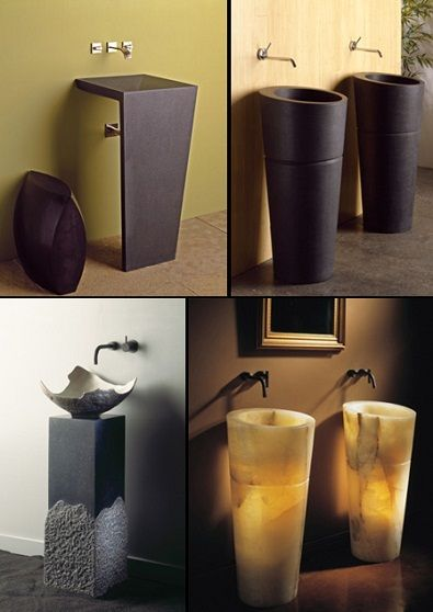 lavabos-modernos Baños Pinterest Bath
